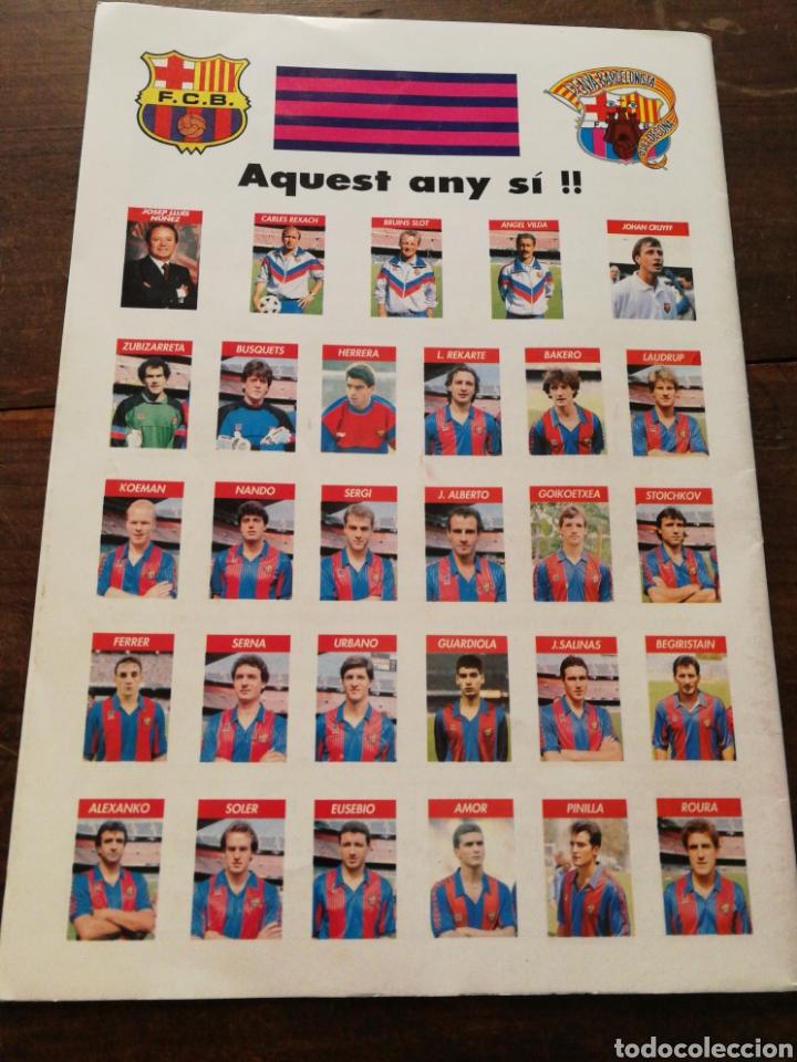 Coleccionismo deportivo: REVISTA BARULL N°8, PENYA BARCELONISTA DULLDECONA, 1991. - Foto 2 - 120953330