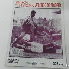 Coleccionismo deportivo: ANTIGUA REVISTA ATLETICO DE MADRID CON FIRMA ORIGINAL. Lote 121205371