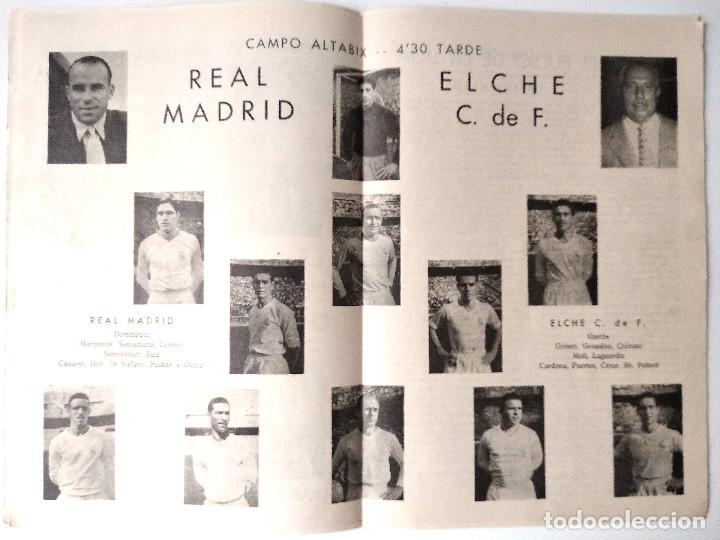 Coleccionismo deportivo: ELCHE C.F. - BOLETÍN INFORMATIVO Nº 5 - 17 OCTUBRE 1959 - DELEGACIÓN DE PRENSA Y PROPAGANDA - Foto 3 - 121251391