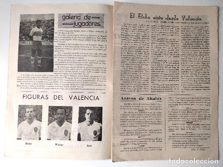 Coleccionismo deportivo: ELCHE C.F. - BOLETÍN INFORMATIVO Nº 6- 1 NOVIEMBRE 1959 - DELEGACIÓN DE PRENSA Y PROPAGANDA - Foto 3 - 121251539