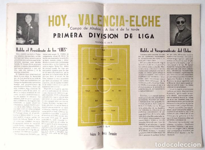 Coleccionismo deportivo: ELCHE C.F. - BOLETÍN INFORMATIVO Nº 6- 1 NOVIEMBRE 1959 - DELEGACIÓN DE PRENSA Y PROPAGANDA - Foto 4 - 121251539