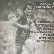 Coleccionismo deportivo: REVISTA BARCELONISTA *** NÚMERO 753 SEPTIEMBRE 1979 HEREDIA. Lote 121259223