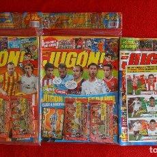 Coleccionismo deportivo: REVISTAS JUGON 89 90 91 PRECINTADAS SIN ABRIR, AMPLIACION INVIERNO ESTE, EDICIONES ESPECIALES Y MAS. Lote 121273067