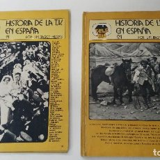 Coleccionismo deportivo: ANTIGUA REVISTA TELE DIA HISTORIA DE LA TV EN ESPAÑA LOTE DE REVISTAS . Lote 121335439