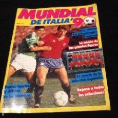 Coleccionismo deportivo: REVISTA MUNDIAL DE ITALIA´90. Lote 121469063