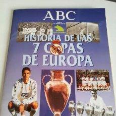 Coleccionismo deportivo: COLECCIONABLE ABC REAL MADRID COPAS DE EUROPA. Lote 121506391