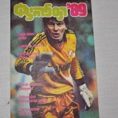 Coleccionismo deportivo: REVISTA FUTBOL .1989A .EDICION DEPORTE SOVIETICO.URSS. Lote 121578019