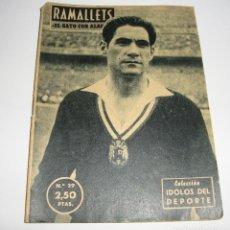Coleccionismo deportivo: (ALB-TC-29) REVISTA COLECCION IDOLOS DEL DEPORTE RAMALLETS. Lote 121593827