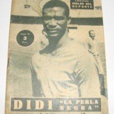 Coleccionismo deportivo: (ALB-TC-29) REVISTA COLECCION IDOLOS DEL DEPORTE DIDI. Lote 121593975