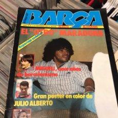 Coleccionismo deportivo: REVISTA LA SAGA DEL BARCA AÑO 1 N11 MARADONA. Lote 121652294