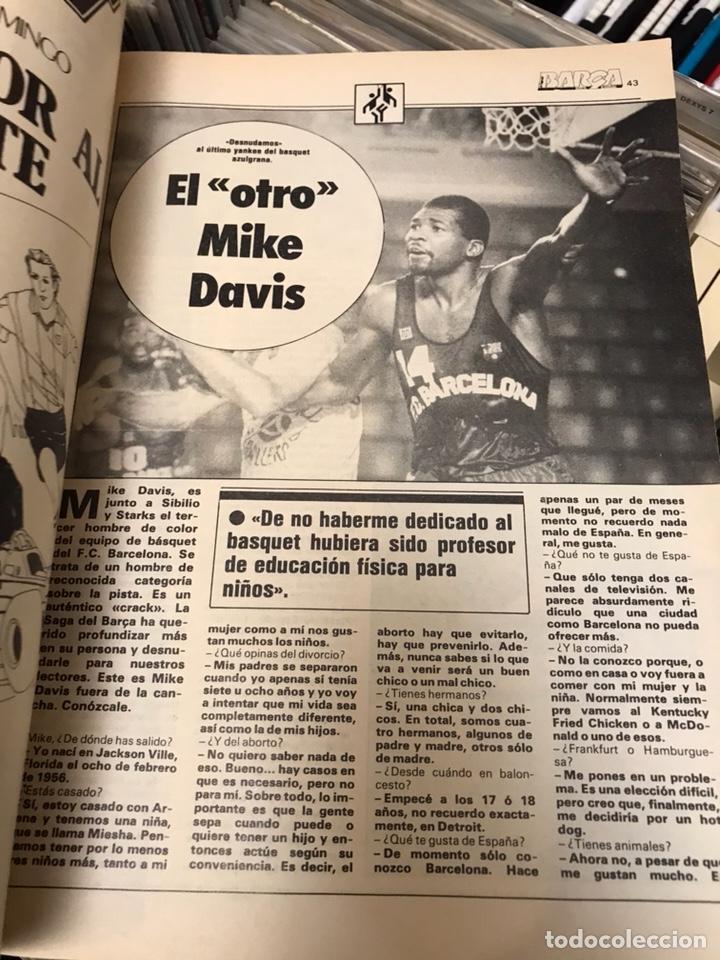 Coleccionismo deportivo: Revista la saga del barca año 1 n11 maradona - Foto 3 - 121652294