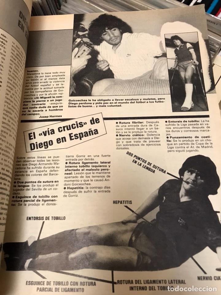 Coleccionismo deportivo: Revista la saga del barca año 1 n11 maradona - Foto 5 - 121652294