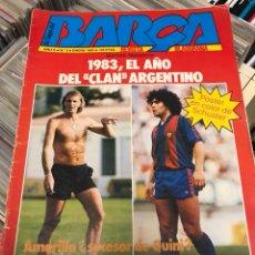 Coleccionismo deportivo: LA SAGA DEL BARCA REVISTA FUTBOL AÑO 2 N2. Lote 121653230