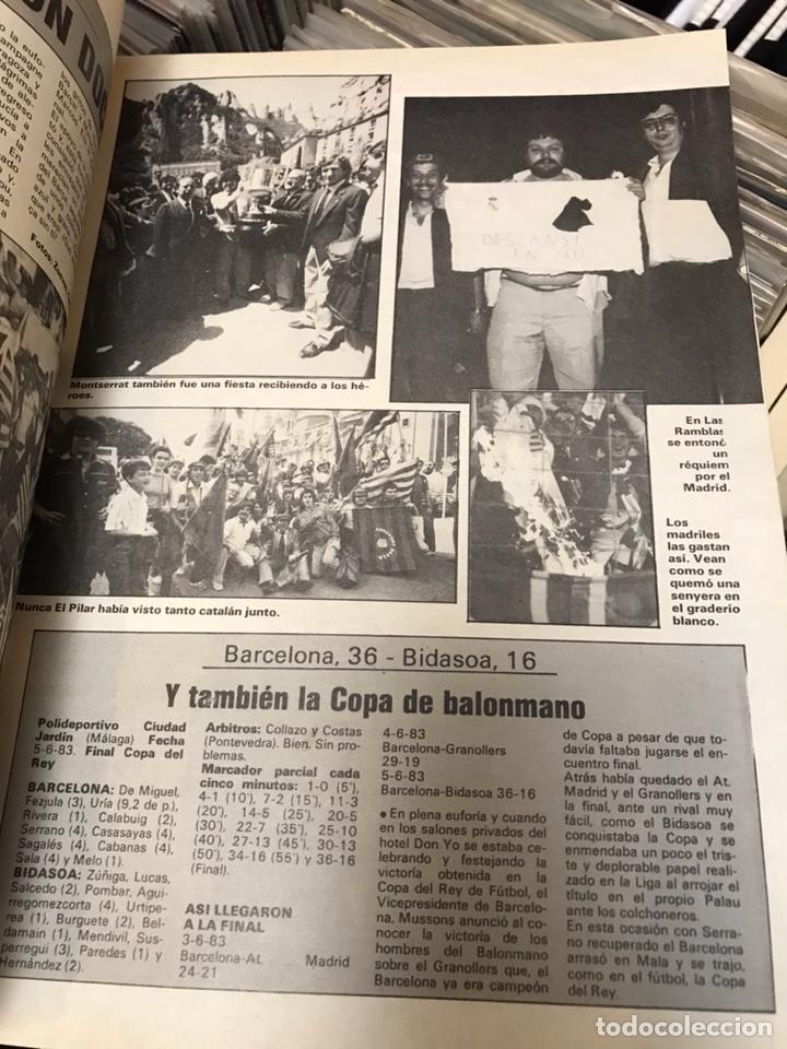 Coleccionismo deportivo: LA SAGA DEL BARCA REVISTA FUTBOL AÑO 2 N7 1983 MARADONA - Foto 3 - 121658119