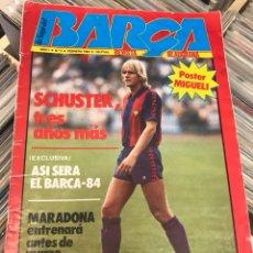 Coleccionismo deportivo: REVISTA LA SAGA DEL BARCA AÑO 1 N3 SCHUSTER. Lote 121652758