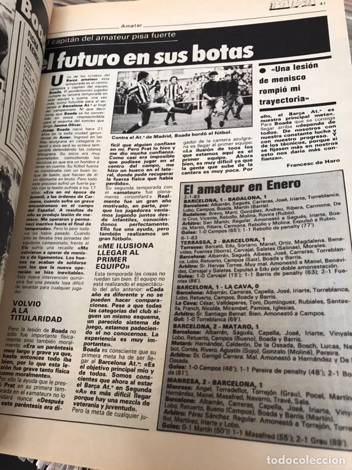 Coleccionismo deportivo: Revista la saga del barca año 1 n3 schuster - Foto 2 - 121652758