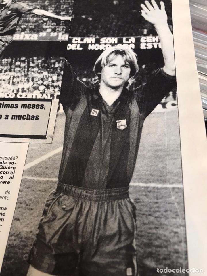 Coleccionismo deportivo: Revista la saga del barca año 1 n3 schuster - Foto 3 - 121652758