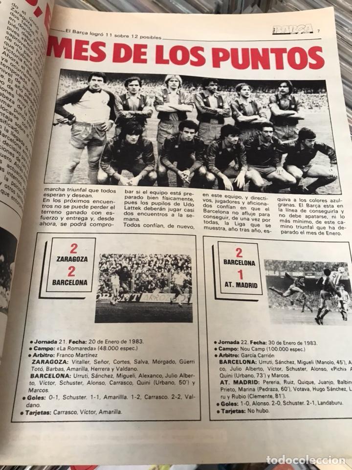 Coleccionismo deportivo: Revista la saga del barca año 1 n3 schuster - Foto 5 - 121652758