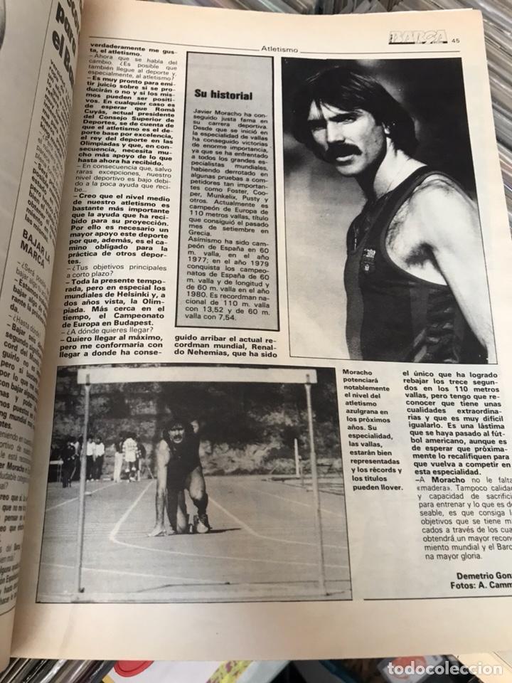 Coleccionismo deportivo: Revista la saga del barca año 1 n3 schuster - Foto 7 - 121652758