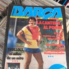 Coleccionismo deportivo: LA SAGA DEL BARCA AÑO 3 N15 REVISTA FUTBOL CLUB BARCELONA. Lote 121711416