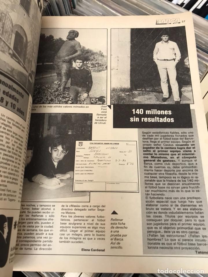 Coleccionismo deportivo: La saga del barca año 3 n15 revista futbol club barcelona - Foto 4 - 121711416