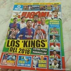 Coleccionismo deportivo: REVISTA JUGÓN DE PANINI Nº134 - MARZO 2018. Lote 121731811