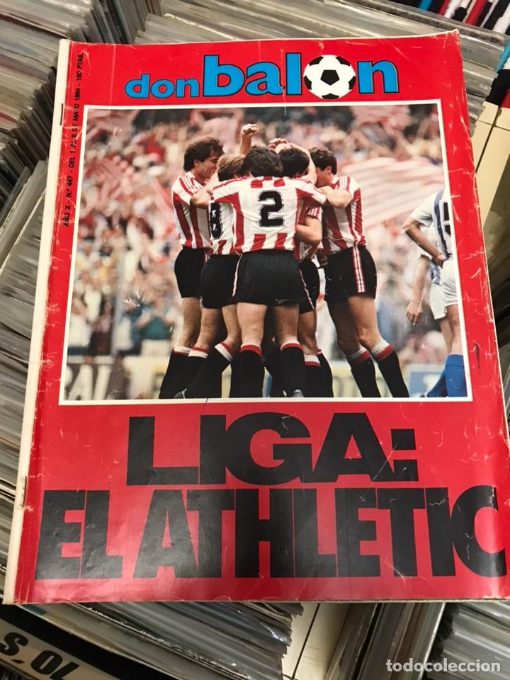 REVISTA DON BALON 447 1984 LIGA EL ATHLETIC (Coleccionismo Deportivo - Revistas y Periódicos - otros Fútbol)