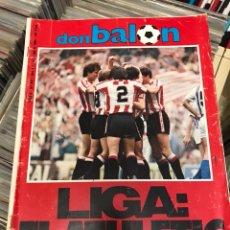Coleccionismo deportivo: REVISTA DON BALON 447 1984 LIGA EL ATHLETIC. Lote 121769730