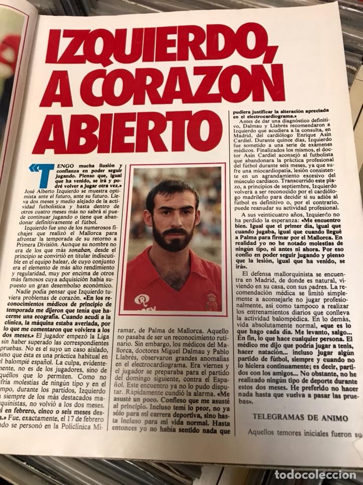 Coleccionismo deportivo: Revista don balon 447 1984 liga el athletic - Foto 2 - 121769730