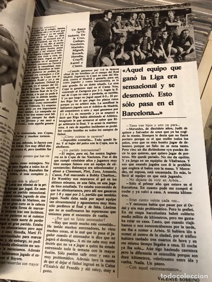 Coleccionismo deportivo: Revista don balon 447 1984 liga el athletic - Foto 3 - 121769730