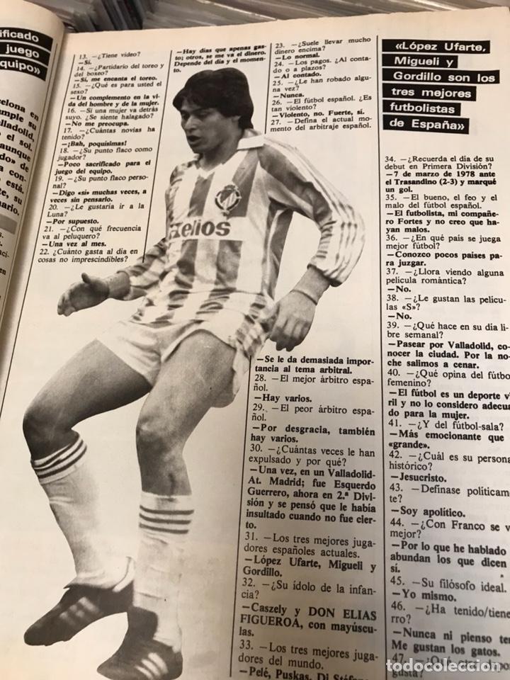 Coleccionismo deportivo: Revista don balon 447 1984 liga el athletic - Foto 5 - 121769730