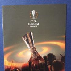 Coleccionismo deportivo: PROGRAMA VILLARREAL - LIVERPOOL. EUROPA LEAGUE 2016. Lote 122079720