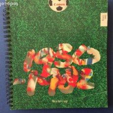 Coleccionismo deportivo: AGENDA MUNDIAL ESPAÑA 82. SIN ESCRITOS. Lote 122082579
