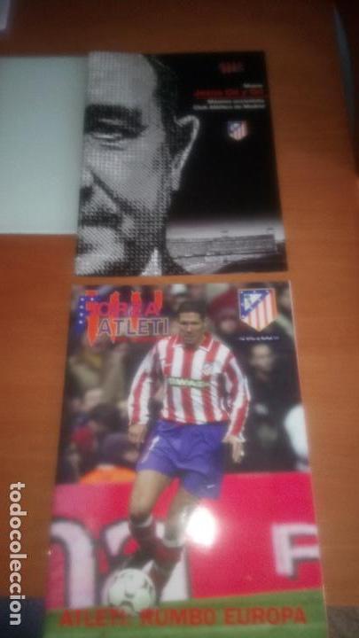 Coleccionismo deportivo: REVISTA FORZA ATLETI Nº 1 Y 2 - Foto 2 - 122243043