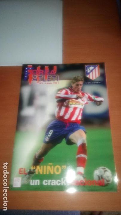 REVISTA FORZA ATLETI Nº 1 Y 2 (Coleccionismo Deportivo - Revistas y Periódicos - otros Fútbol)