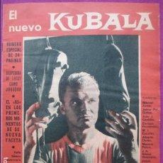 Coleccionismo deportivo: REVISTA BARÇA, Nº 295, 1961, FUTBOL, EL NUEVO KUBALA, NUMERO ESPECIAL DE 24 PAGINAS,. Lote 122426375