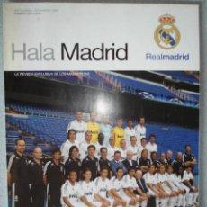 Coleccionismo deportivo: REVISTA OFICIAL DEL REAL MADRID Nº 28 HALA MADRID (SEPTIEMBRE 2008-NOVIEMBRE 2008).. Lote 122577915