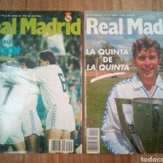 Coleccionismo deportivo: REVISTAS OFICIALES DEL REAL MADRID. Lote 122598242