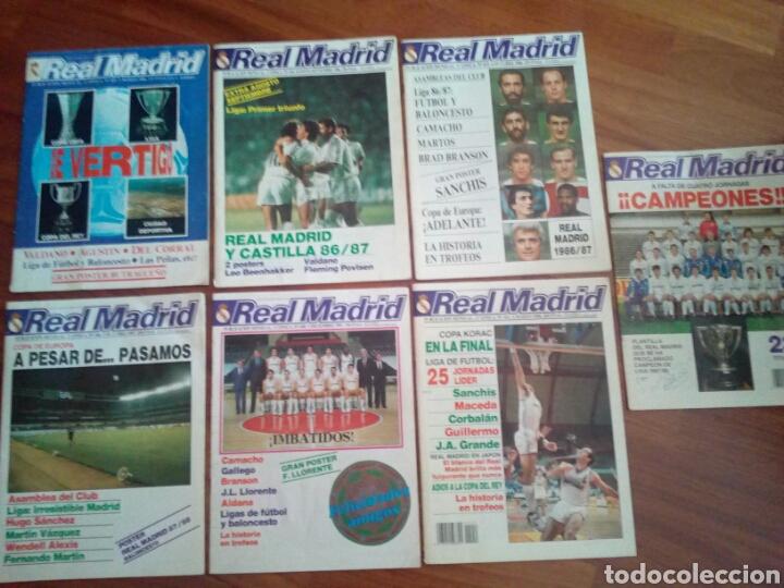 REVISTAS REAL MADRID (Coleccionismo Deportivo - Revistas y Periódicos - otros Fútbol)
