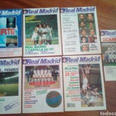 Coleccionismo deportivo: REVISTAS REAL MADRID. Lote 122600611