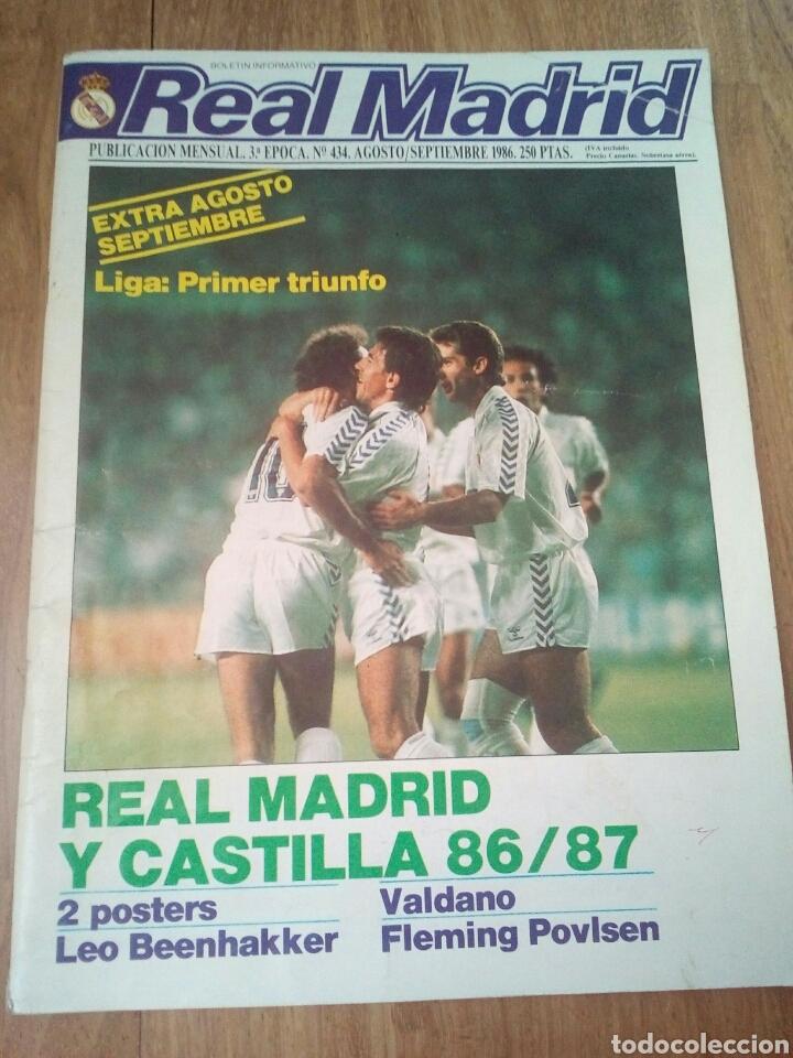 Coleccionismo deportivo: REVISTAS REAL MADRID - Foto 2 - 122600611