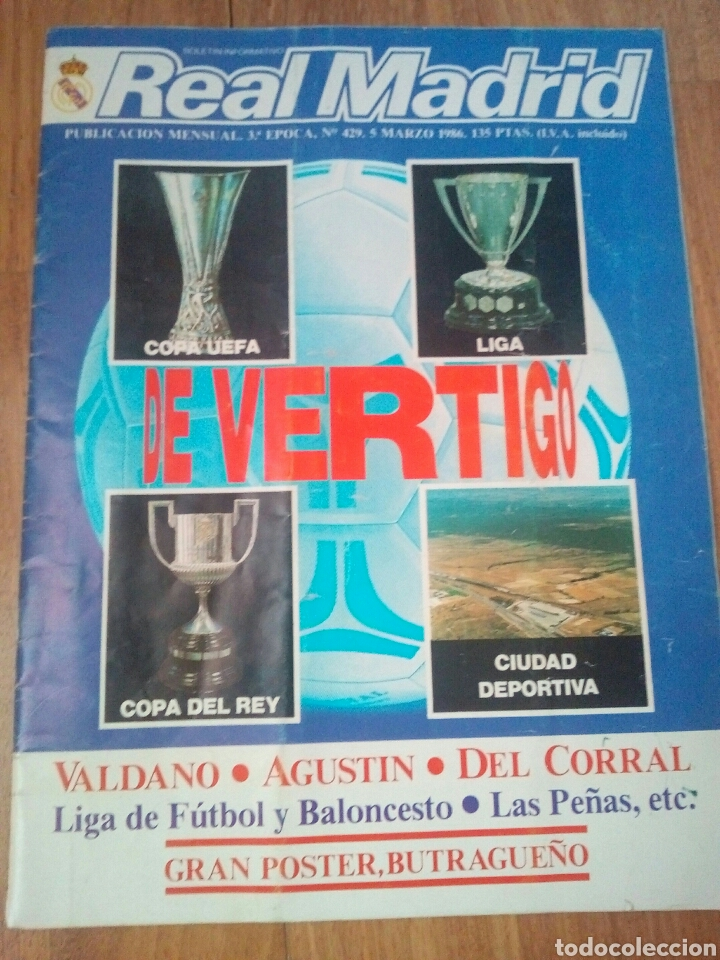 Coleccionismo deportivo: REVISTAS REAL MADRID - Foto 4 - 122600611