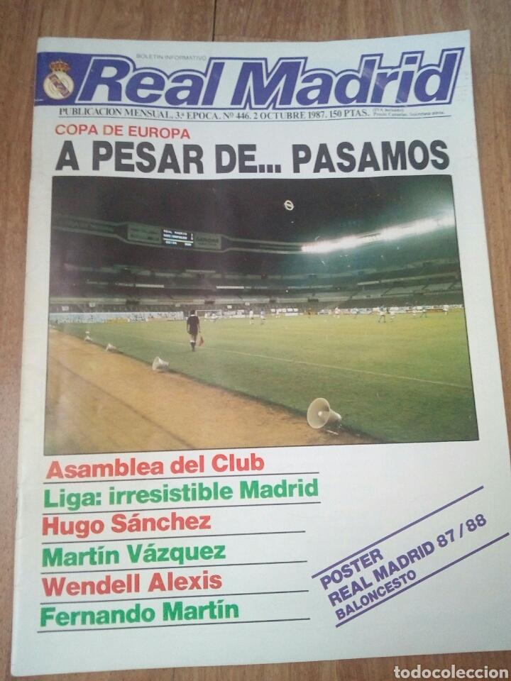 Coleccionismo deportivo: REVISTAS REAL MADRID - Foto 6 - 122600611