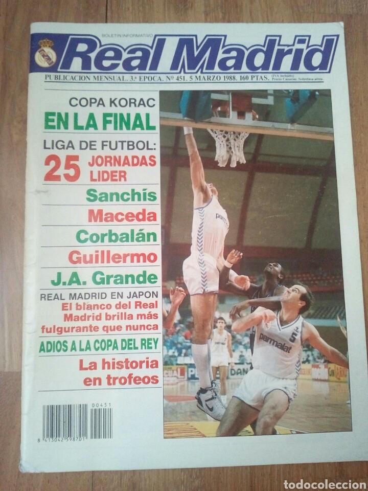 Coleccionismo deportivo: REVISTAS REAL MADRID - Foto 7 - 122600611
