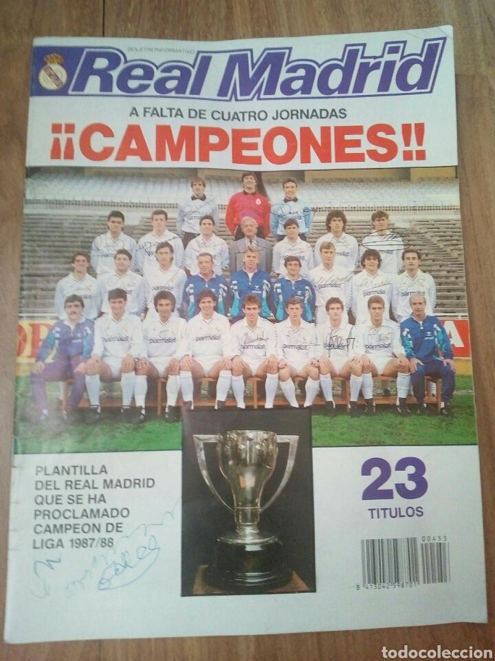 Coleccionismo deportivo: REVISTAS REAL MADRID - Foto 8 - 122600611