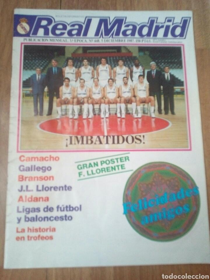 Coleccionismo deportivo: REVISTAS REAL MADRID - Foto 9 - 122600611