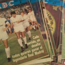 Coleccionismo deportivo: ABC- HISTORIA VIVA DEL REAL MADRID 45 REVISTAS. Lote 122995468