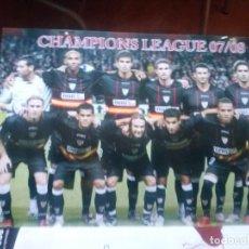 Coleccionismo deportivo: PROGRAMA OFICIAL CHAMPIONS 2007 SEVILLA SK SLAVIA PRAHA. Lote 123274731