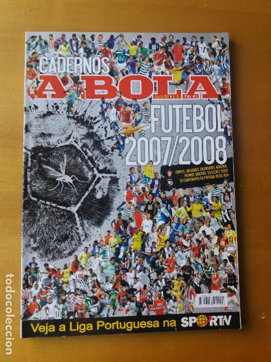 A BOLA . LIGA PORTUGUESA 2007-2008. (Coleccionismo Deportivo - Revistas y Periódicos - otros Fútbol)
