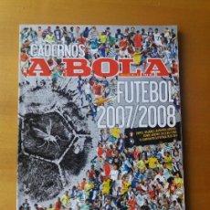 Coleccionismo deportivo: A BOLA . LIGA PORTUGUESA 2007-2008.. Lote 123519471